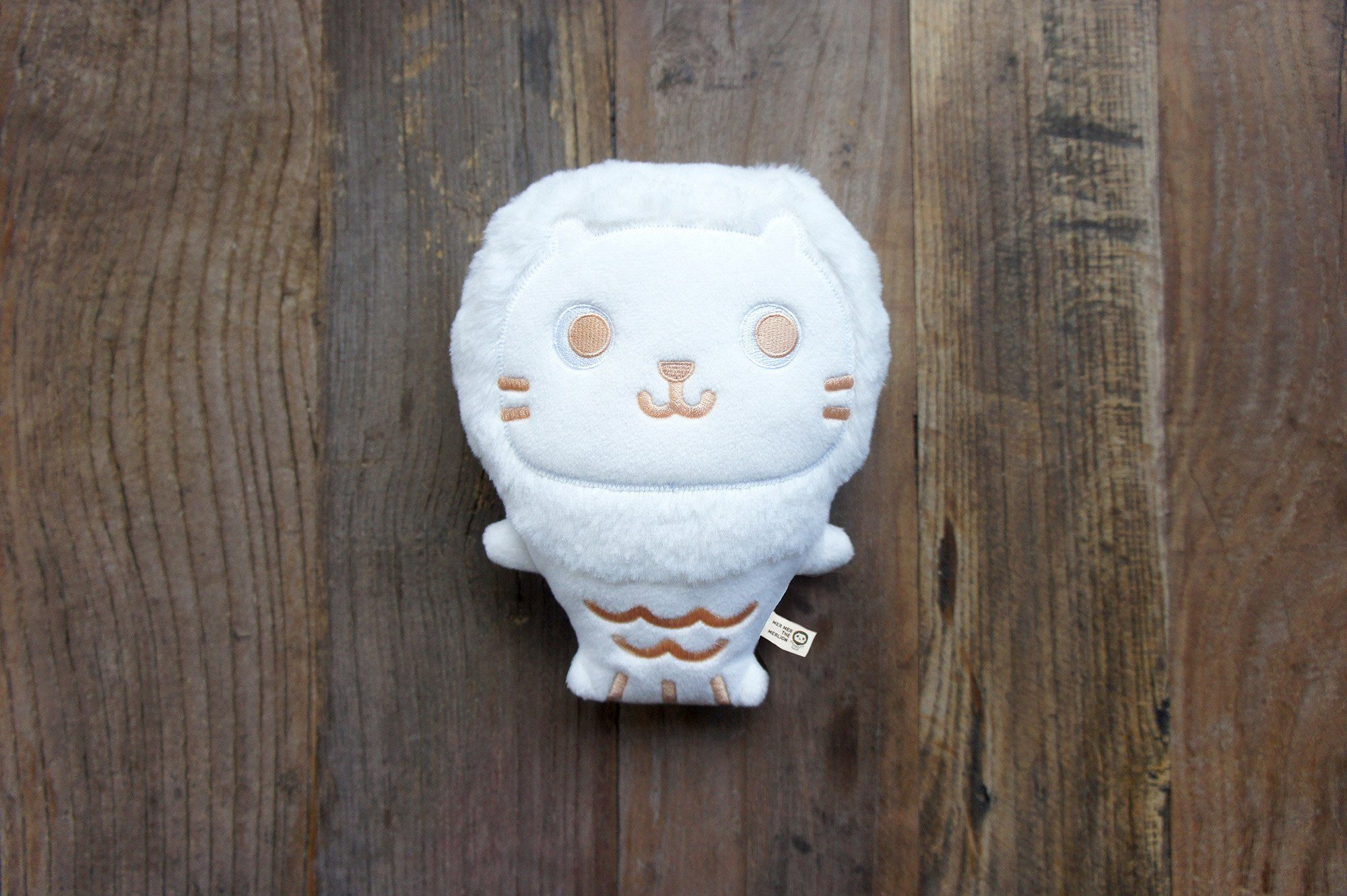 Mer Mer the Merlion Marshmallow - Local Plushies - The Forest Factory - Naiise