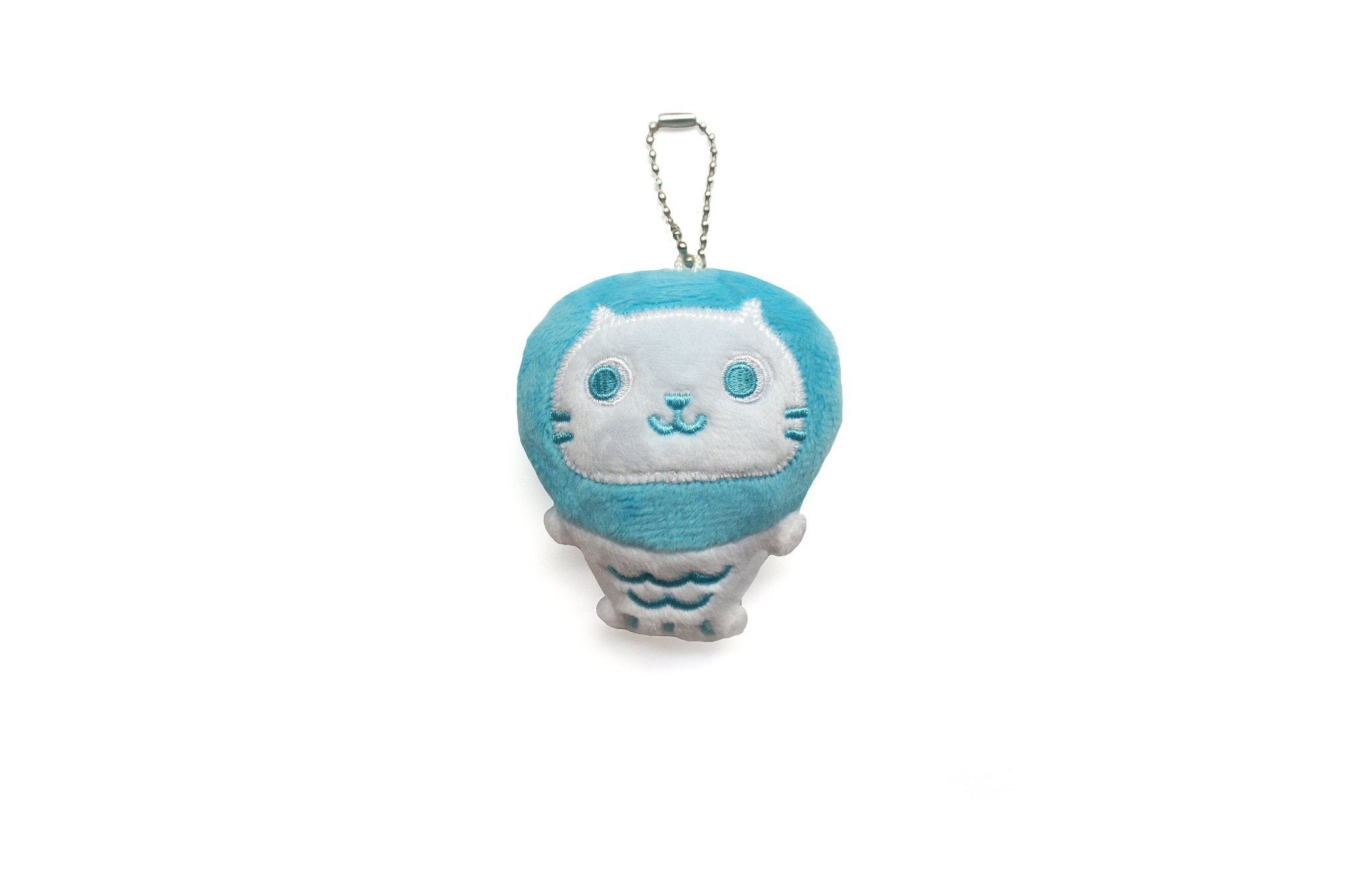 Mer Mer the Merlion Plush Keychain - Naiise
