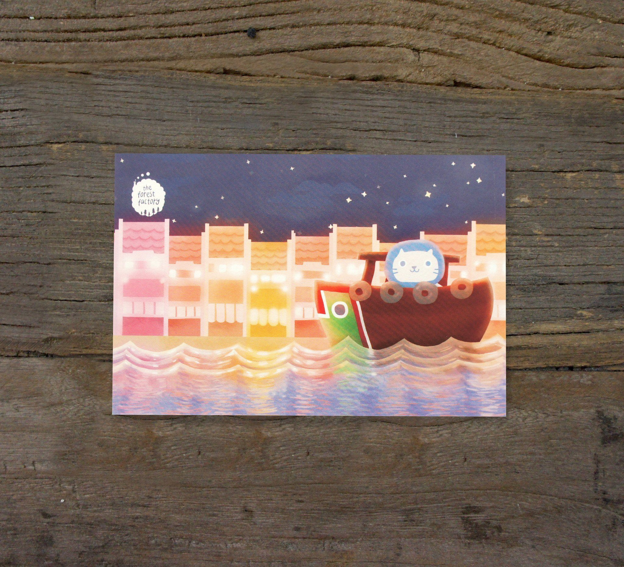 Mer Mer The Merlion Postcard - Local Postcards - The Forest Factory - Naiise