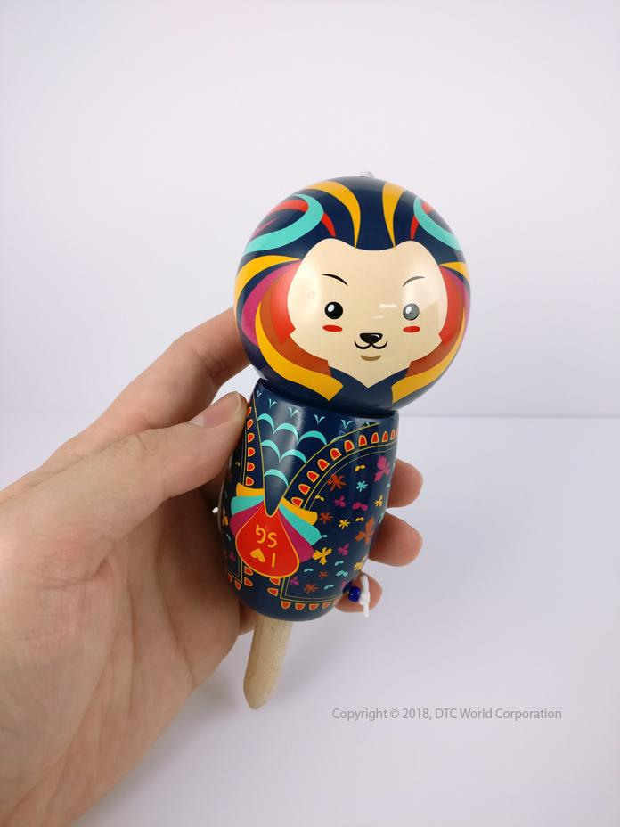 Merdama - Merlion Inspired Kendama Local Toys Merdama