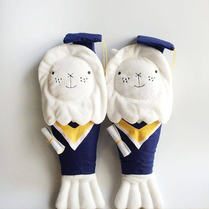 Merlion ChouChou Graduates Gown (Attire Only) - Local Plushies - Ok Can Lah - Naiise