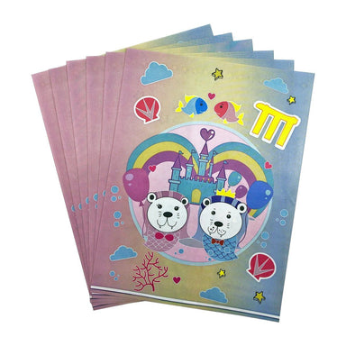 Merlion Comic Paper Gift Bag (Set of 6) Gift Bags i-Zakka
