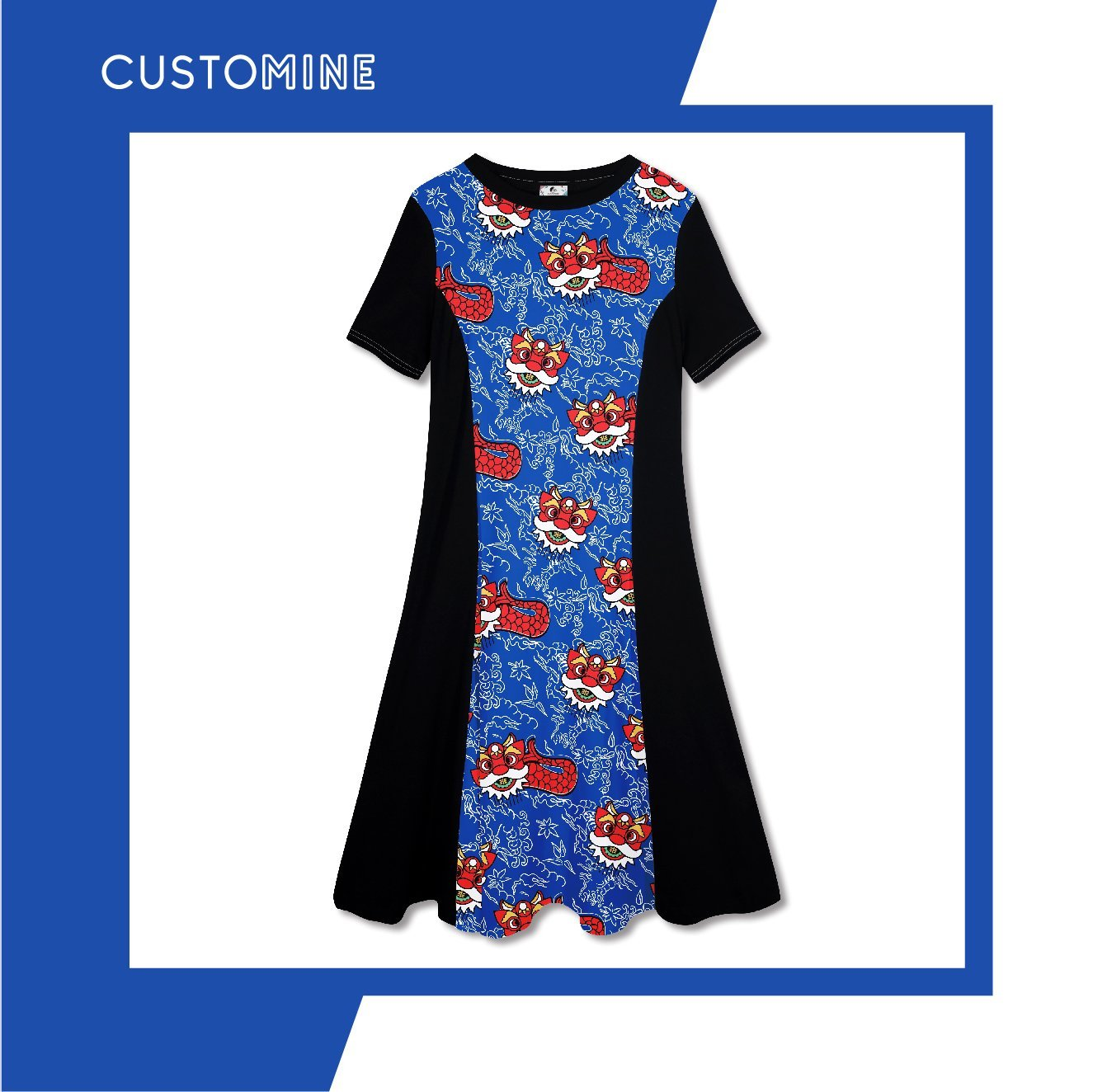 Merlion Dance Dress (Pre-Order) - Local Dress - CUSTOMINE - Naiise