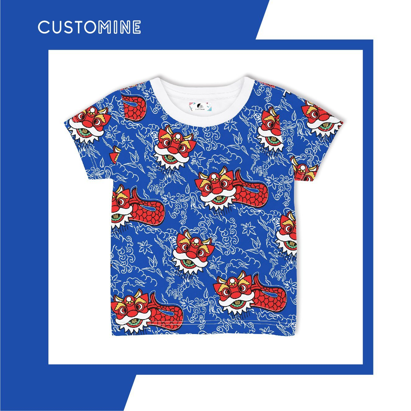 Merlion Dance Kid's T-Shirt (Pre-Order) - Kids Clothing - CUSTOMINE - Naiise