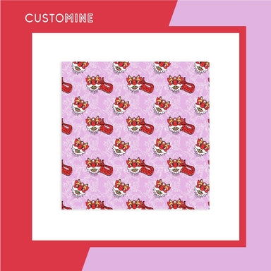 Merlion Dance Scarf (Pre-Order) - Local Scarves - CUSTOMINE - Naiise