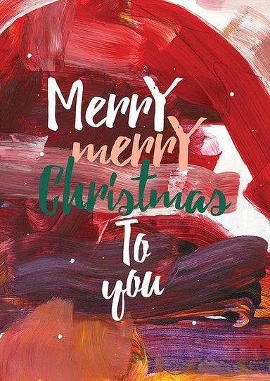 Merry Merry Christmas to You Greeting Card - Christmas Cards - The Paper Happiness - Naiise