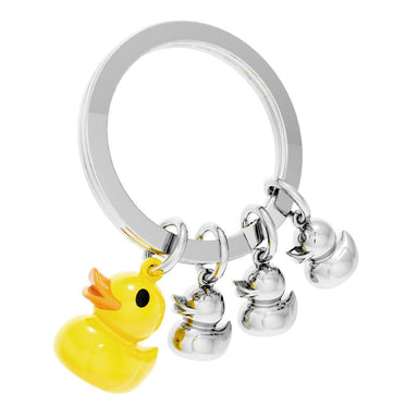 Metalmorphose Duck Famiy Keychain New Arrivals Zigzagme