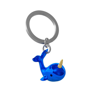 Metalmorphose Narwhal Keychain New Arrivals Zigzagme