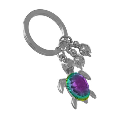 Metalmorphose Turtle Family Keychain New Arrivals Zigzagme