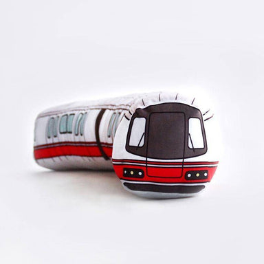 Meykrs Train Bolster Plush - Local Plushies - Ok Can Lah - Naiise