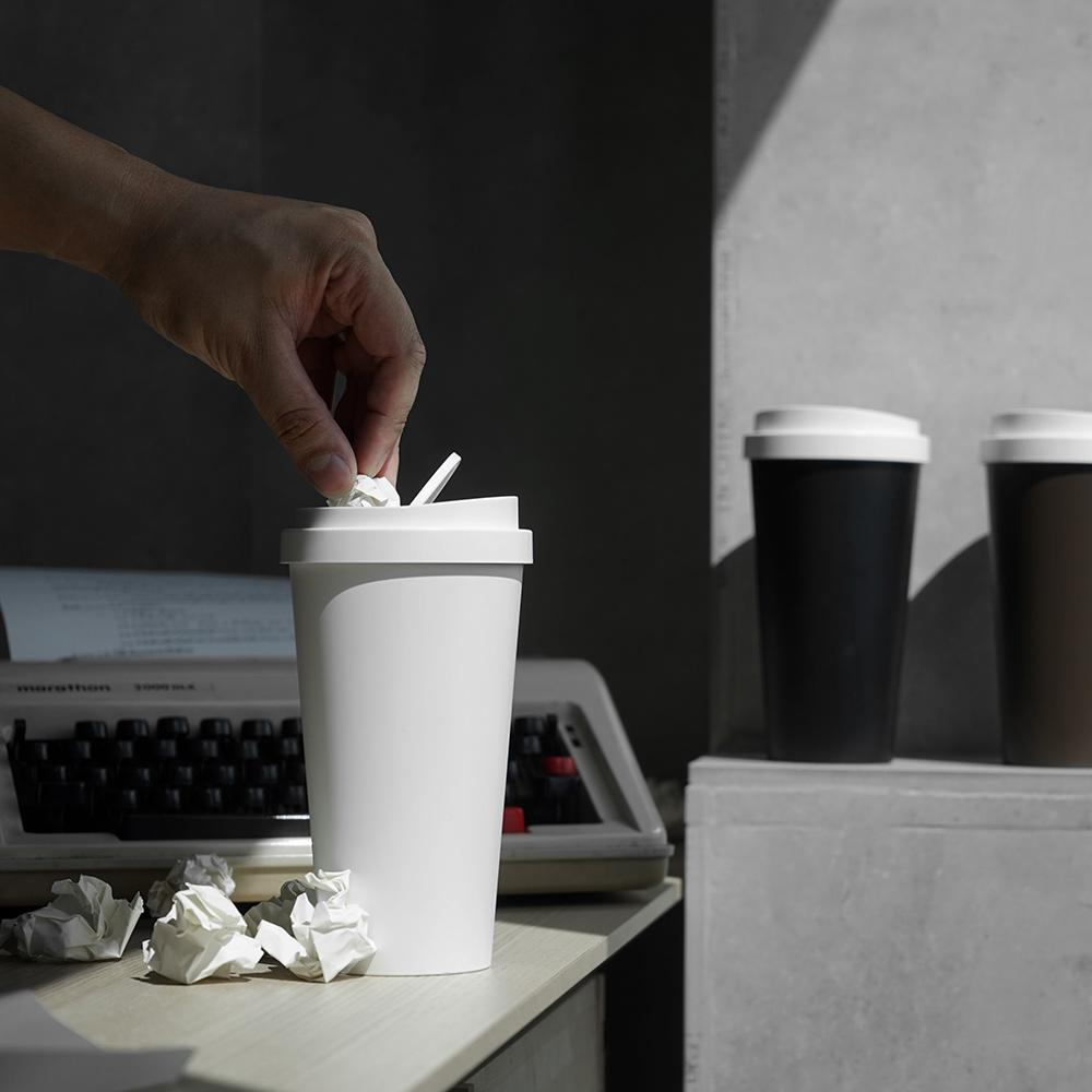 Micro Coffee Bin Desk Organisation Qualy
