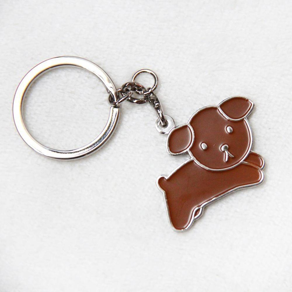 Miffy Badge Keychain - Snuffy - Keychains - Ok Can Lah - Naiise