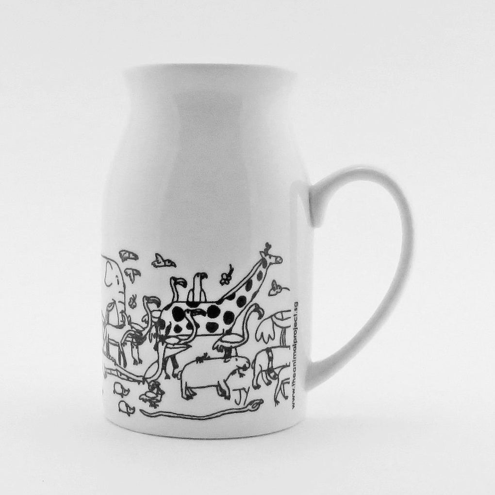 Milk Mug - Animal Exodus Mugs The Animal Project