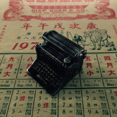 Miniature Vintage Typewriter Local Toys Little Red Box