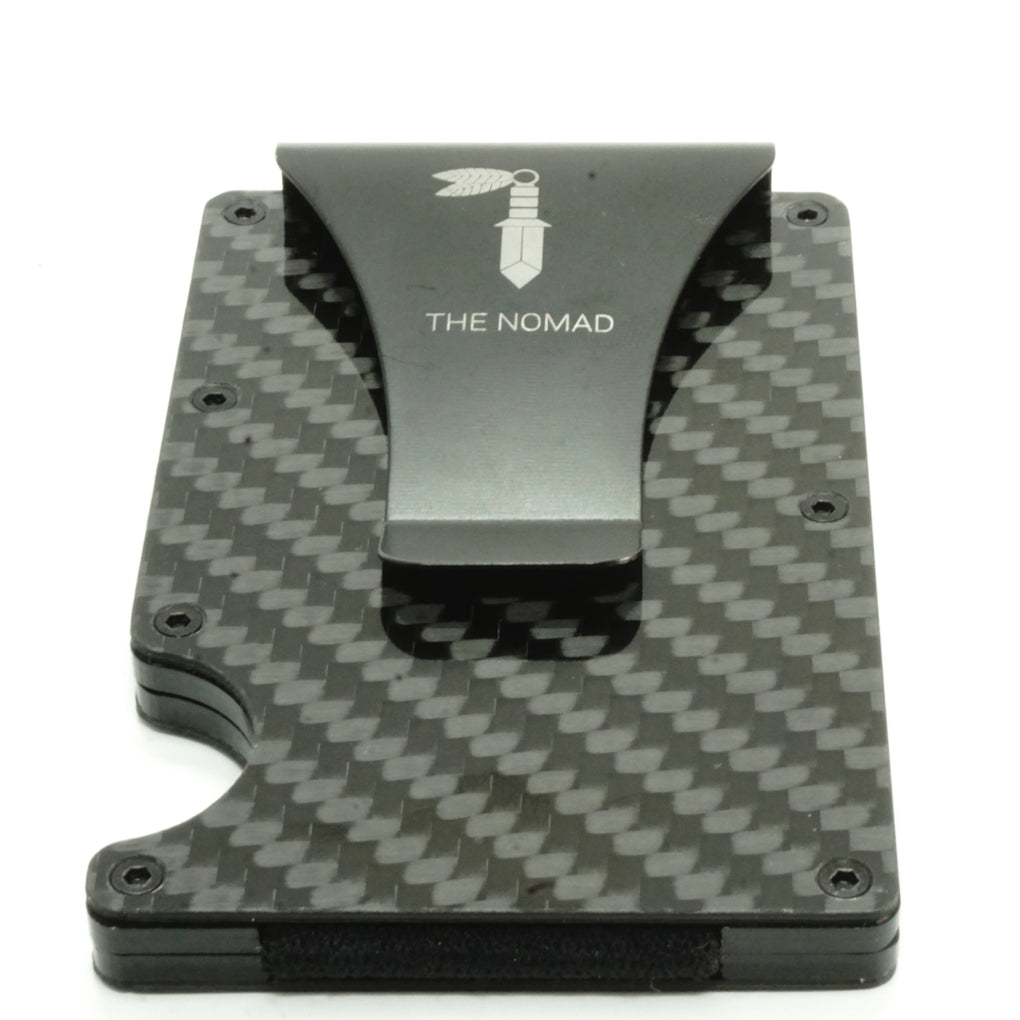 Minimalist Carbon Fiber Card Holder Card Holders The Nomad