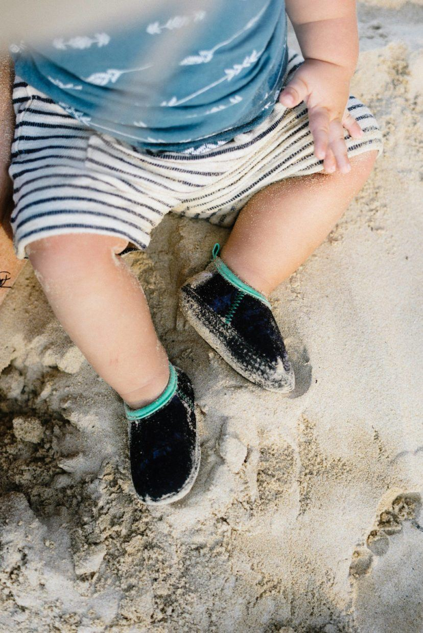 Minnow Designs Beach Booties - Ash - Kids' Shoes - Minnow Designs - Naiise