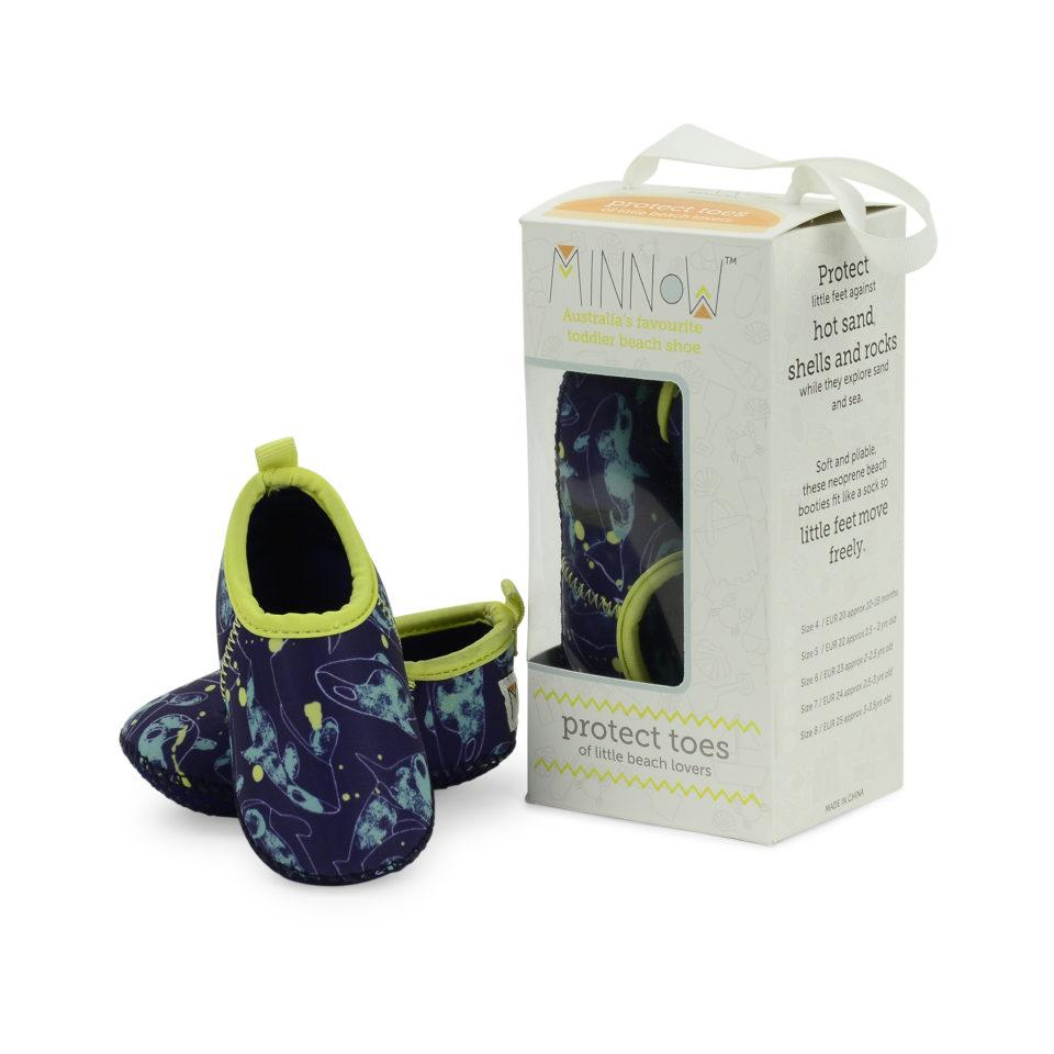 Minnow Designs Beach Booties - Orcas Kids' Shoes Minnow Designs