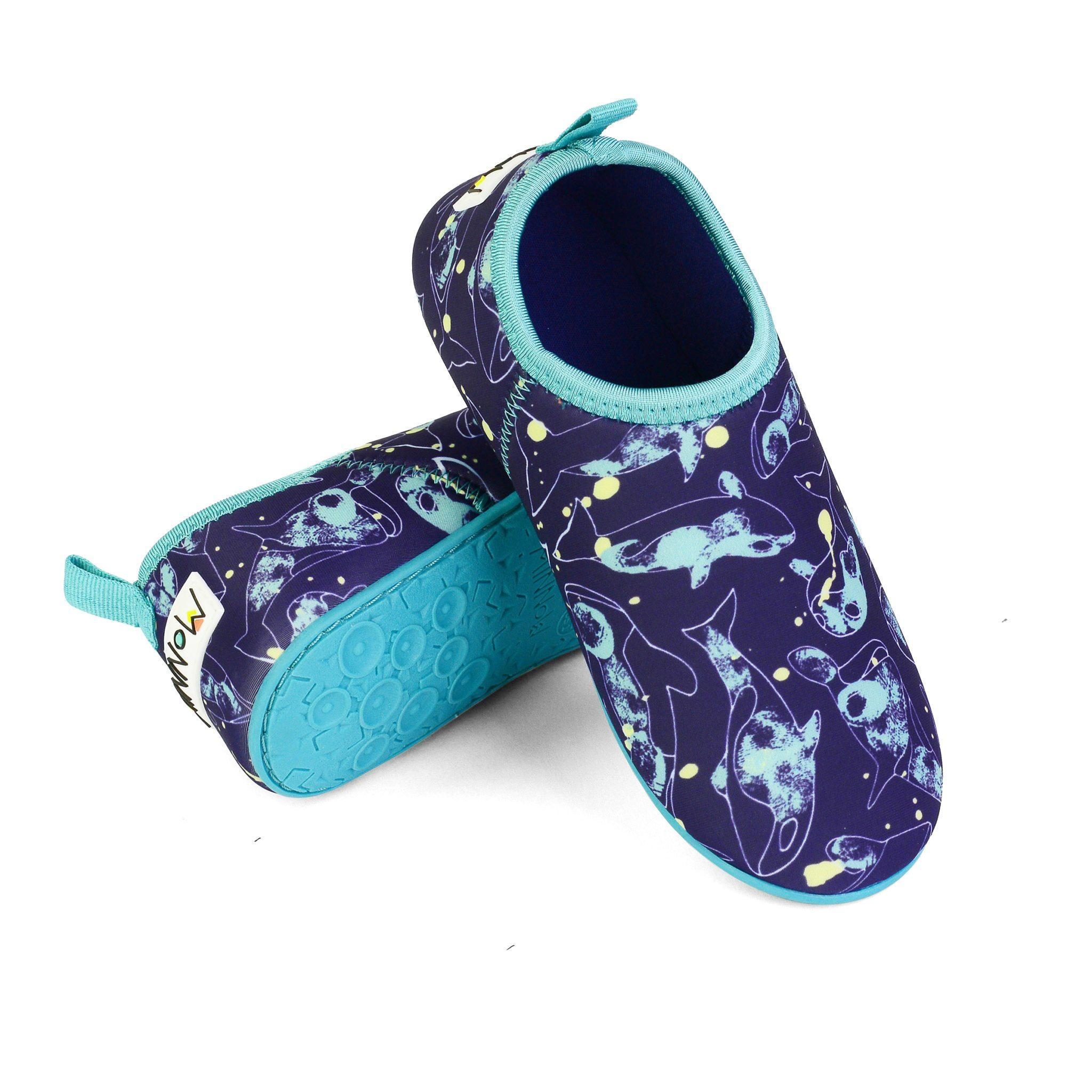 Minnow Designs Junior Beach Booties - Orcas - Kids' Shoes - Minnow Designs - Naiise