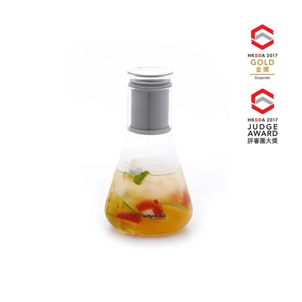 Mixo Glass Tea Infuser and Shaker Tea Infusers Simple Lab