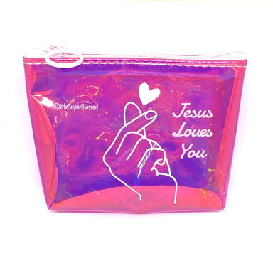 Jesus Loves You Coin Pouch - Coin Pouches - The Super Blessed - Naiise