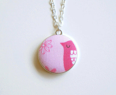 Molly Daisey Handmade Fabric Button Necklace - Necklaces - Paperdaise Accessories - Naiise