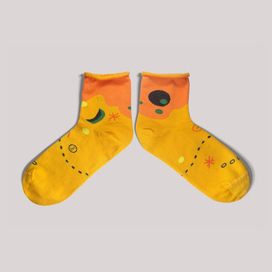 Moon & Sun Reebok Gold Socks Socks GoodPair