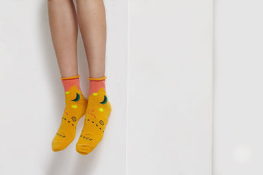 Moon & Sun Reebok Gold Socks Socks GoodPair Default Title