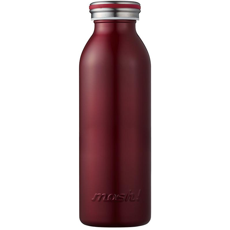 MOSH! Stainless Steel Water Bottle 450ml - Burgundy Water Bottles MOSH!