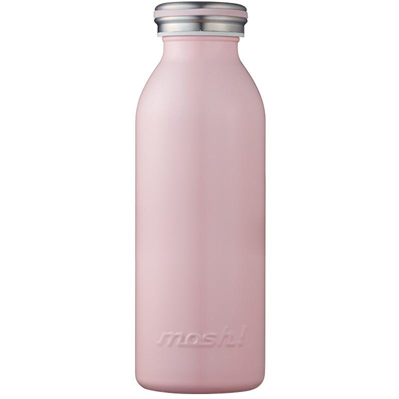 MOSH! Stainless Steel Water Bottle 450ml - Peach Water Bottles MOSH!