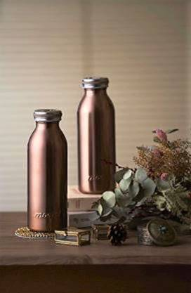 MOSH! Stainless Steel Water Bottle - Pearl Gold Water Bottles MOSH!