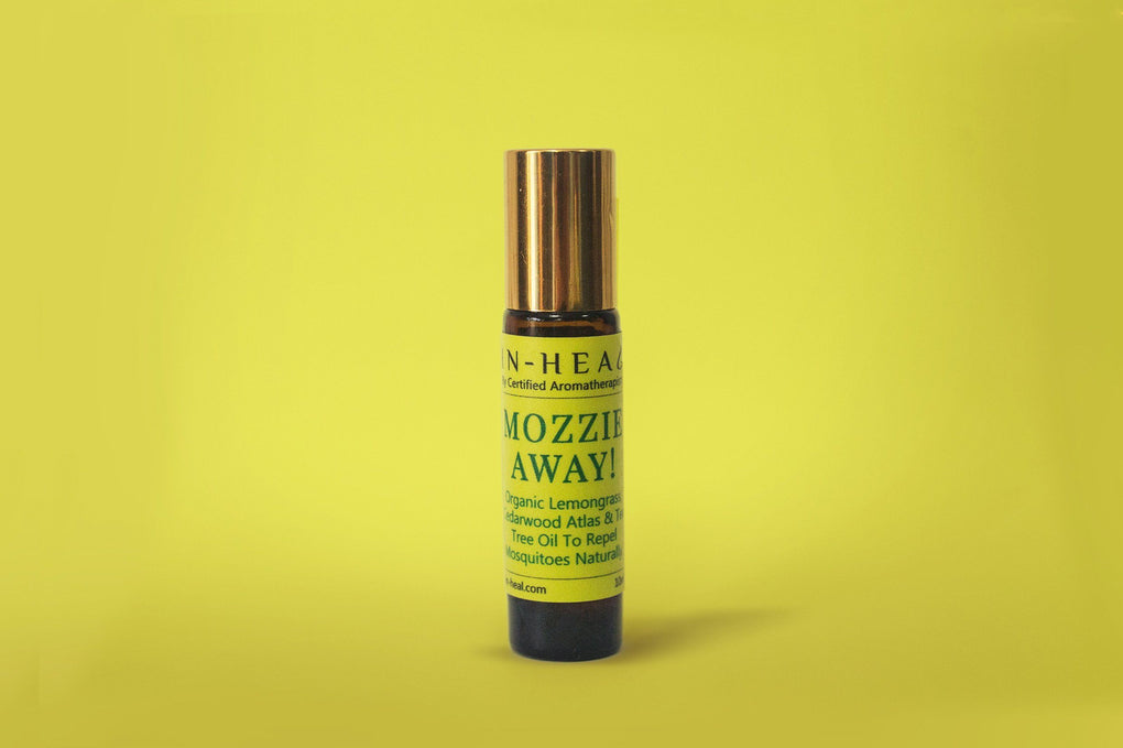 Mozzie Away Roll-On Essential Oils in-heal