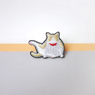 Mr Cream Cat Pin Pins Purr Purr Papa