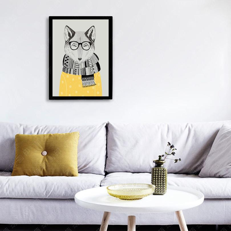 Mr Fox Canvas - Canvas Prints - Charlie and Skye - Naiise
