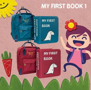 My First Book 1 Children Books Naomi Wear Blue
