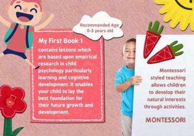 My First Book 1 Children Books Naomi Wear Red