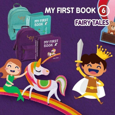 My First Book 6-Fairy Tales Children Books Naomi Wear