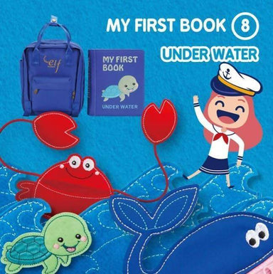 My First Book 8-Under Water Children Books Naomi Wear My First Book - Ocean