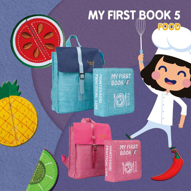 My First Book - Food - Baby Books - Naomi Wear - Naiise
