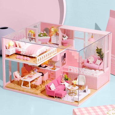 My Little Warm Moment Dollhouse - DIY Crafts - Blue Stone Craft - Naiise
