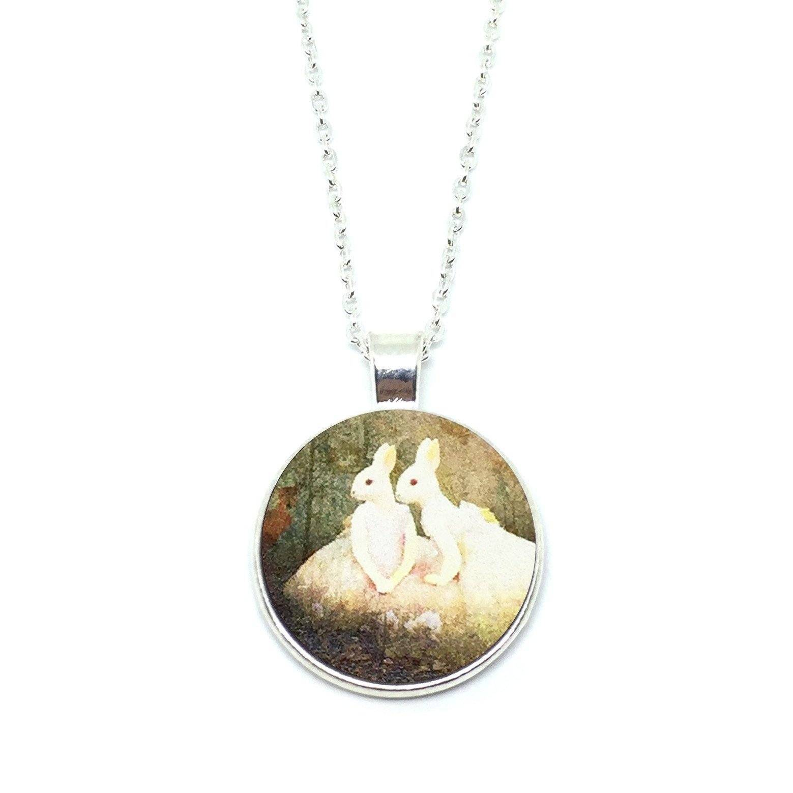 Mythical Lovely Rabbitgirls Necklace - Necklaces - Paperdaise Accessories - Naiise
