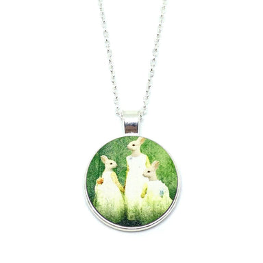 Mythical Rabbitgirl Family Necklace - Necklaces - Paperdaise Accessories - Naiise