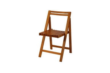 VIKA Folding Chair - Chairs - Scanteak - Naiise