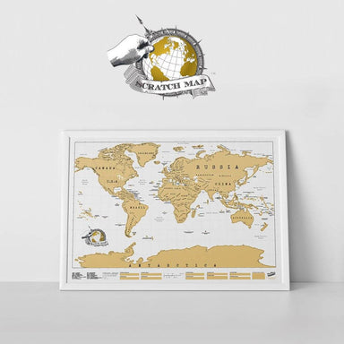 Scratch Maps Original - Scratch Maps - The Planet Collection - Naiise