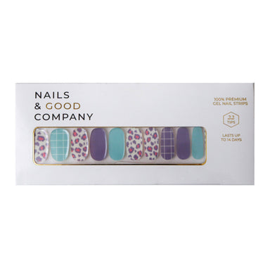Born Wild Nail Strips - Nail Wraps - Nails & Good Company - Naiise
