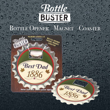 BOTTLE BUSTER - Best Bottle Opener : Best Dad - Bottle Openers - La Belle Collection - Naiise