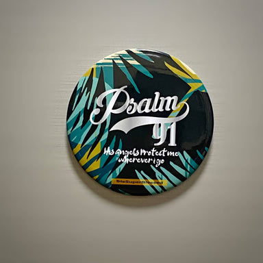 Magnet - Psalm 91 Foliage - Magnets - The Super Blessed - Naiise