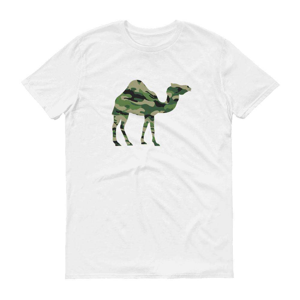 Camo Camel Crew Neck S-Sleeve T-shirt - Local T-shirts - Wet Tee Shirt / Uncle Ahn T / Heng Tee Shirt / KaoBeiKing - Naiise