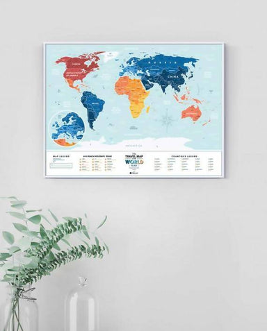 1DEA.me - Holiday Lagoon World (Travel Map) - Scratch Maps - The Planet Collection - Naiise