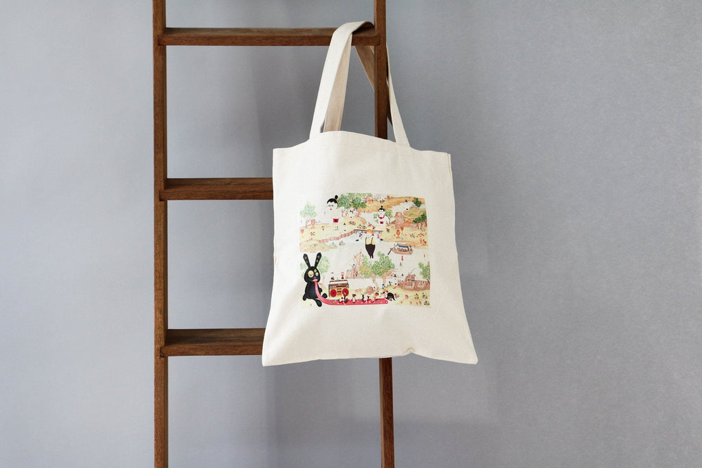 Naiise X Noise Exclusive - The Boundless Universe Totebag Tote Bags Joyce Lee Default Title