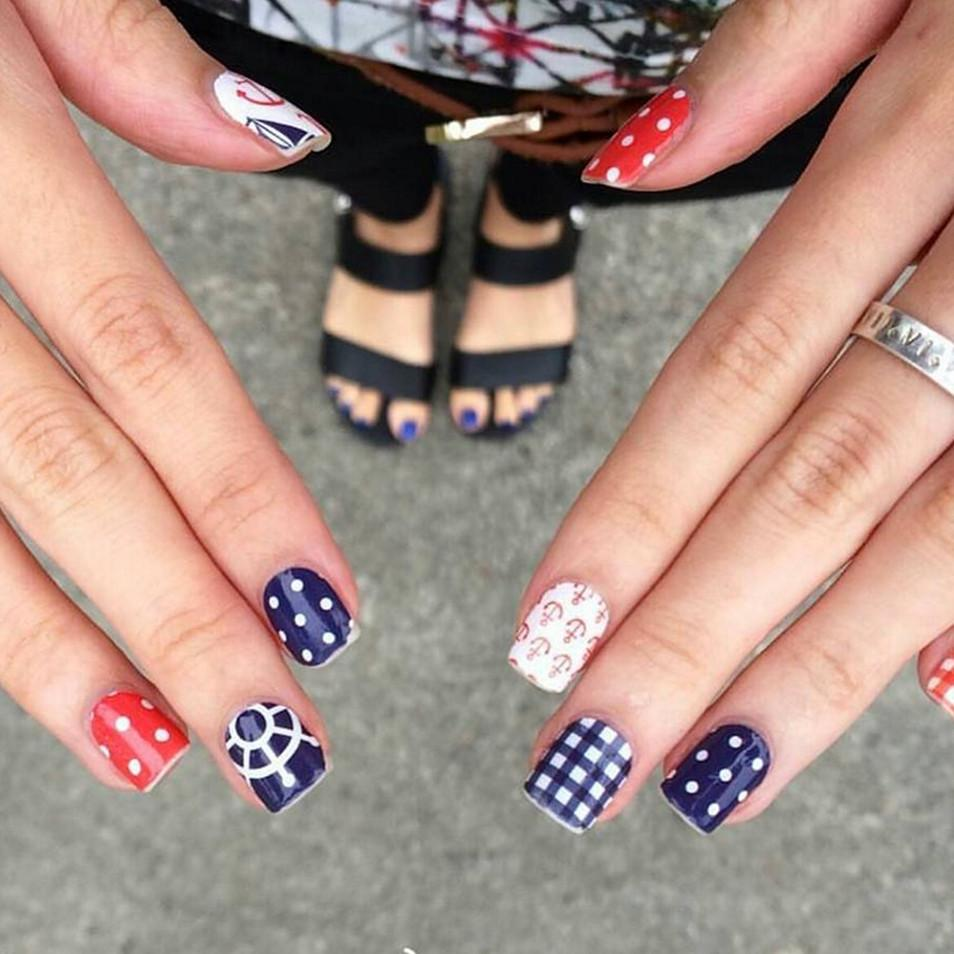 Nautical Nail Wrap - Naiise